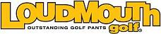 Official logo of Loudmouth Golf & link to the website